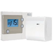 Thermostat d'ambiance hebdomadaire sans fil
